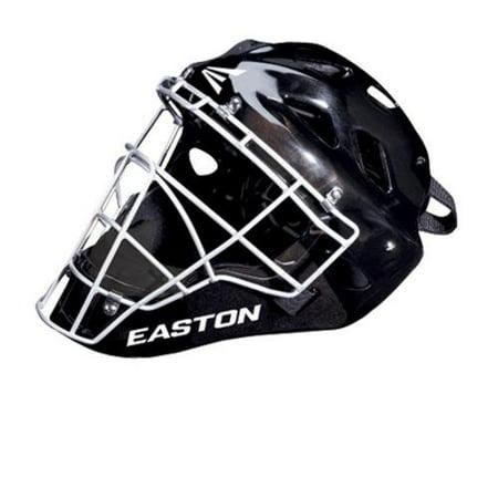 Easton Stealth SE baseball softball catchers gear hockey style helmet Black S ()
