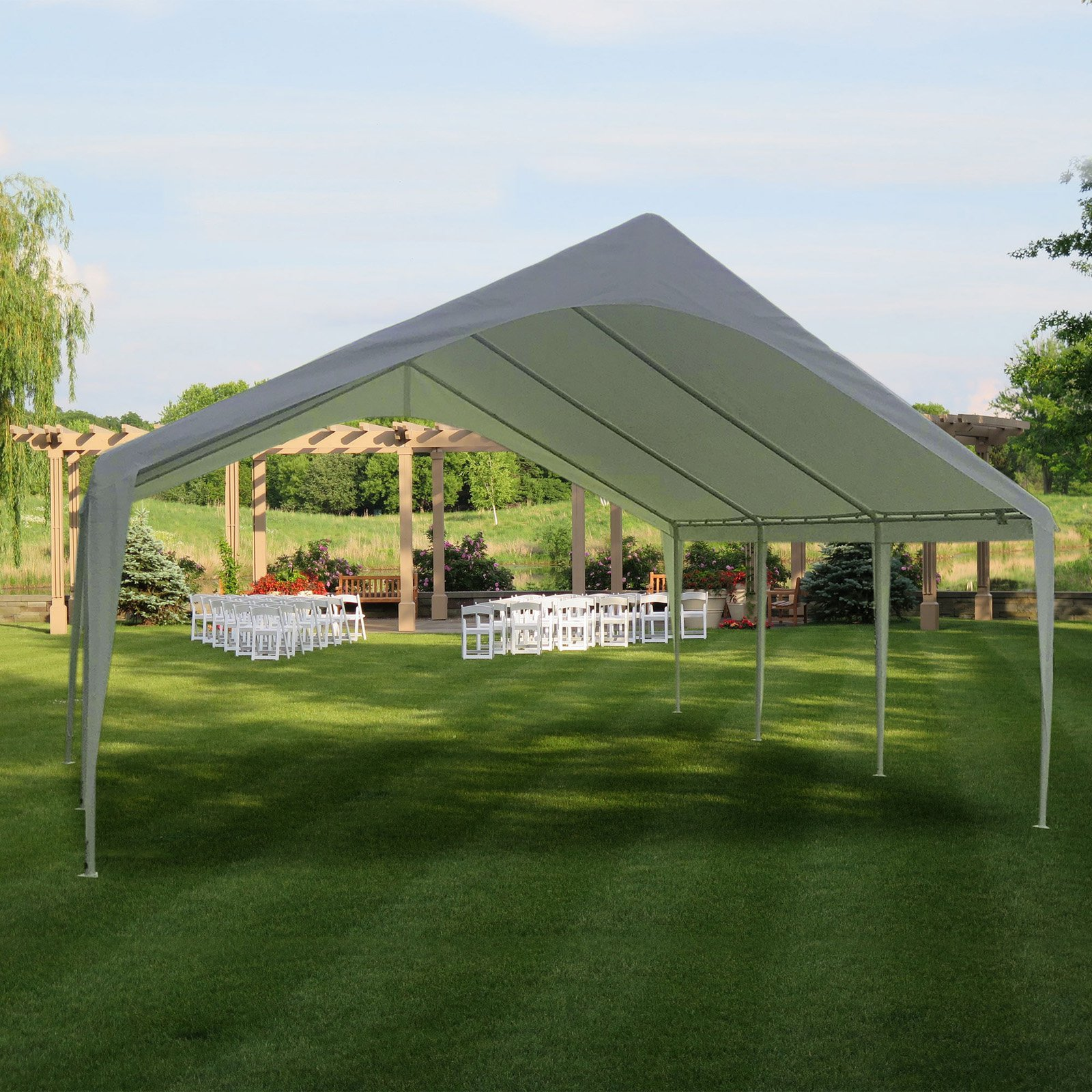 Click here to buy Impact Canopy 20 x 20 ft. Event Canopy Shelter by Impact Images Inc.
