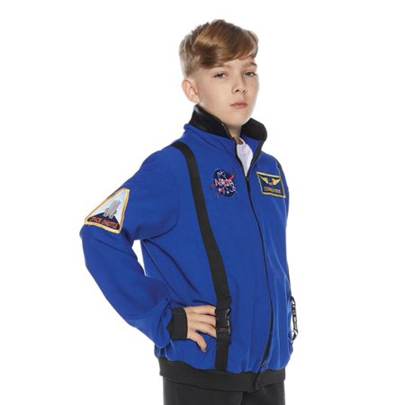 Blue Astronaut Jacket Child Costume](Blue Astronaut Costume)