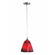 "Dale Tiffany SAH12068 Single Light 9-1/2"" Wide Mini Pendant"
