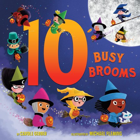 10 Busy Brooms - eBook - Busy Beaver Halloween