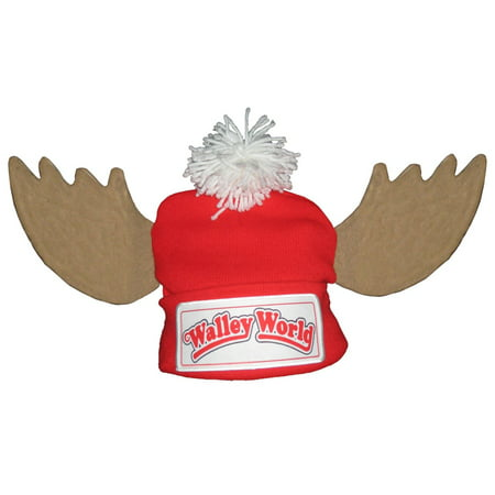 Marty Mcfly Hat (National Lampoon's Vacation Walley World Marty Moose Beanie)