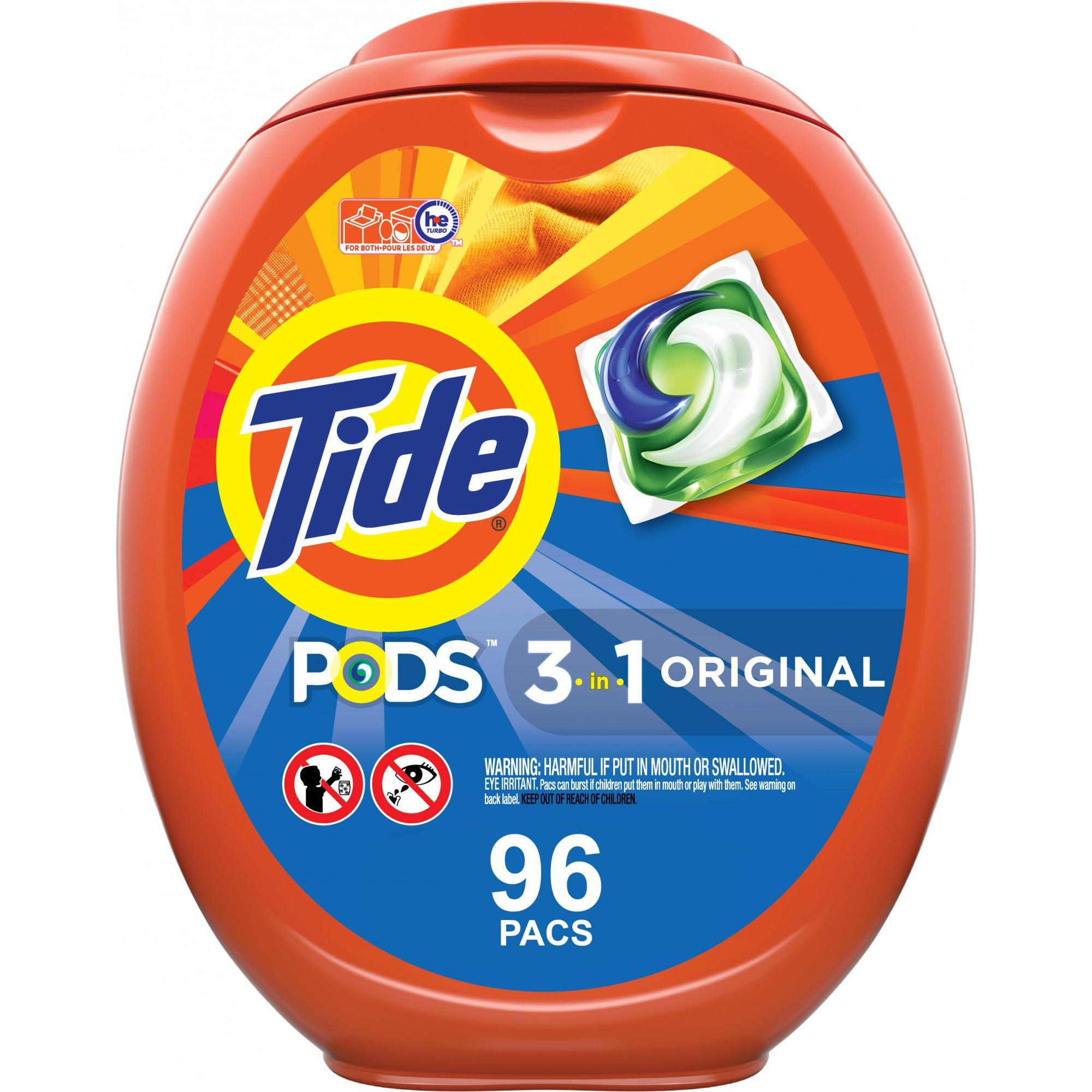 Tide Pods Original Scent 96 Ct, Laundry Detergent Pacs