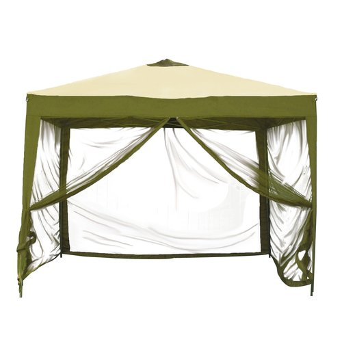 Ben and Jonah Stow 10 Ft. x 10 Ft. Square Pop-Up Gazebo