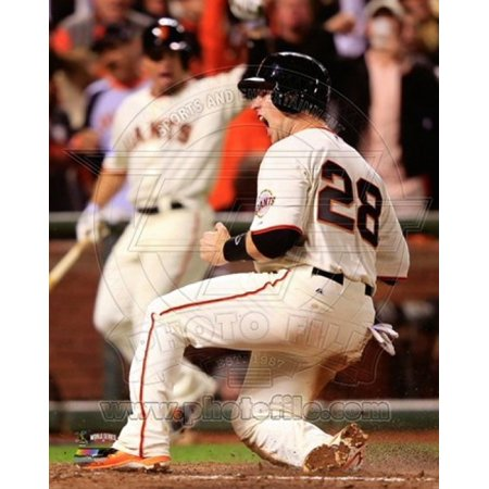 Buster Posey Game 4 of the 2014 World Series Action Sports Photo