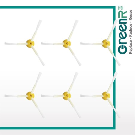 GreenR3 6-PACK Spinning Side Brushes Generic Replacement for PN 21899 Fits Model Series 800 500 870 880 890 900 and more