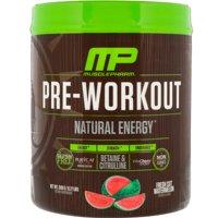 Muscle Pharm - Pre-Workout Natural Energy Powder Fresh Cut Watermelon - 348 Grams