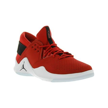 sports shoes 6cd1f 58794 Nike Men s Jordan Flight Fresh Gym Red   Black - White Mid-Top Leather  Basketball ...