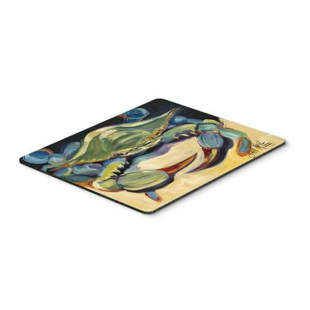 Blue Crab Mouse Pad  Hot Pad Or Trivet Jmk1093mp