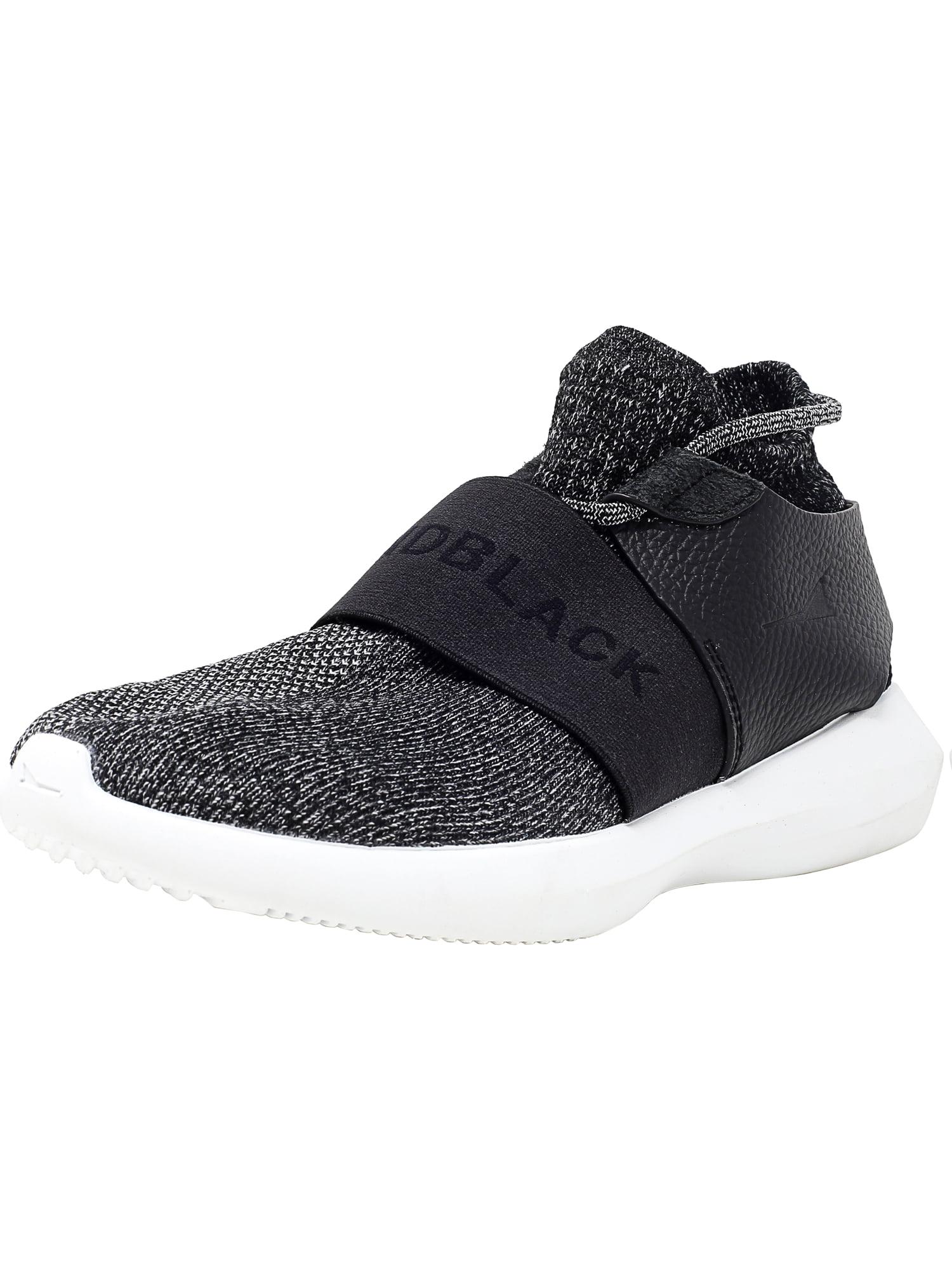 Brandblack Men's Gama Charcoal / Black Ankle-High Fabric Fashion Sneaker - 9M