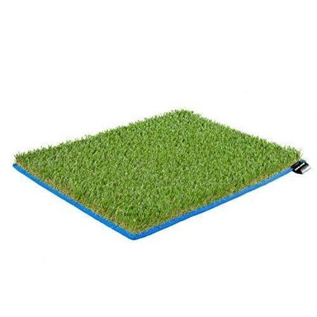 Dorsal Surfer Changing Pad Surf Grass Mat for Wetsuit Change (Red Wetsuit)