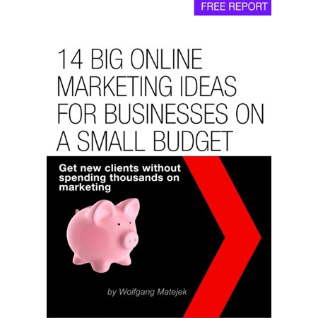 14 Big Online Marketing Ideas For Small Businesses On A Small Budget - eBook ()