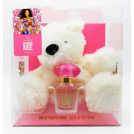 Baby Phat Dare Me by Kimora Lee Simmons For Women SET: Mini EDT 0.5oz + Teddy