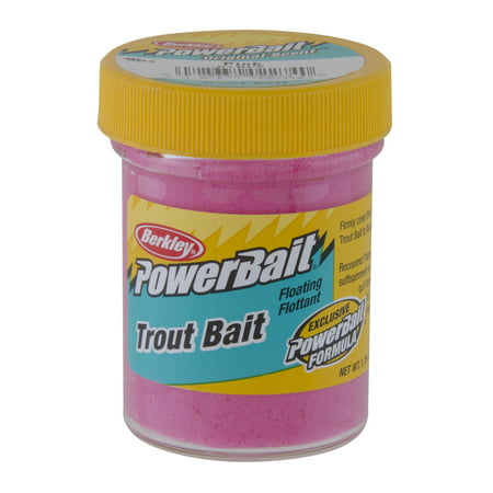 Berkley PowerBait Trout Dough Bait Pink