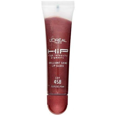 Loreal Loreal HiP High Intensity Pigments Brilliant Shine Lip Gloss, 0.5 oz High Gloss Shine Spray Gel