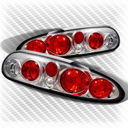 For 1993-2002 Chevy Camaro Tail Lights Lamps Rear Brake  Tail Lights  Set Pair L+R 1994 1995 1996 1997 1998 1999 2000 Chevy Camaro Front Brake