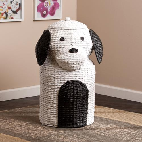 Upton Home Puppy Laundry Hamper