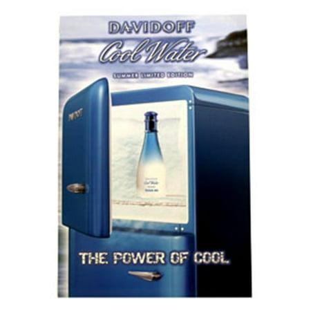 Davidoff Coolwater Freeze Me Affiche Cofpd - image 1 de 1