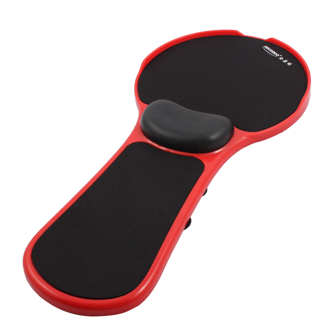 Adjustable Chair Extender Computer Arm Support Mouse Pad Pallet Red Black