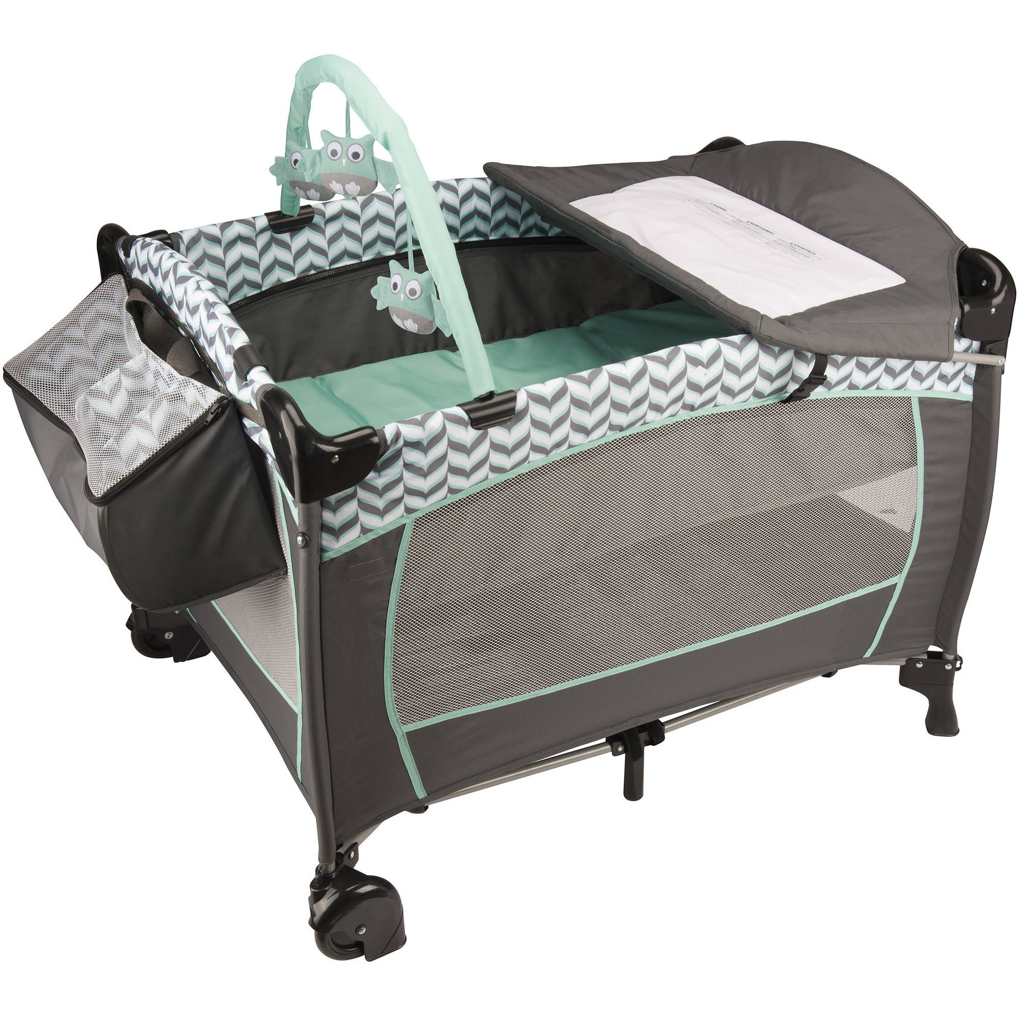 Evenflo Babysuite Deluxe Playard, Spearmint Spree ...