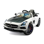 MERCEDES SLS AMG FINAL EDITION 12V BATTERY POWERED KIDS RIDE-ON CAR WITH LED WHEELS MP3 PARENTAL REMOTE   WHITE