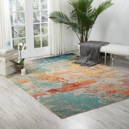 Nourison Celestial Modern Area Rug - Nourison Machine Made Rugs