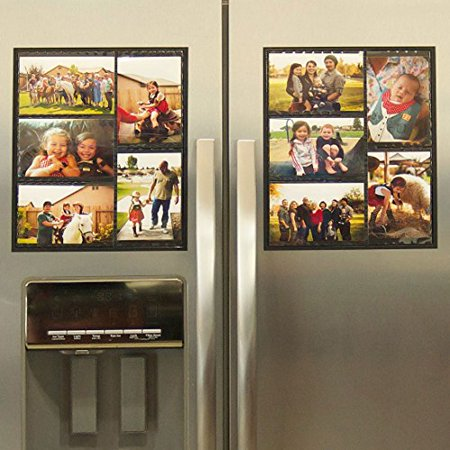 Wind Sea Magnetic Picture Collage Frame For Refrigerator 2 Pack
