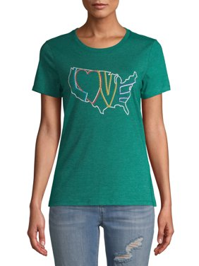 EV1 from Ellen DeGeneres Women's Love USA T-Shirt