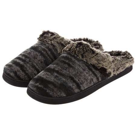 0c3ebe87d058 Aerosoles - Aerosoles Women s Cushioned House Slippers Wool Mule Clogs  Indoor Outdoor Shoes - Walmart.com