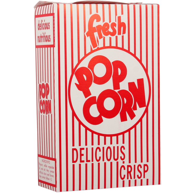 2E Close-Top Popcorn Box (100/Case)