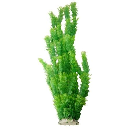 Aqua Emulational Plant Decor Green 21.6