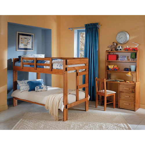 Chelsea Home Twin over Twin Standard Bunk Bed