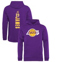 7baa27f55 Product Image LeBron James Los Angeles Lakers Fanatics Branded Youth Team  Backer Name   Number Pullover Hoodie -