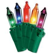 National Tree 50 Bulb Outdoor Multi Ready-Lit Illuminate Light Set