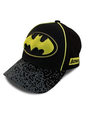 DC Comics Little Boys Assorted Superhero Designs 3D Pop Baseball Cap, Age 2-7