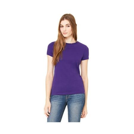 - Bella Women's Favorite Longer Length Shoulder Taping T-Shirt, Style B6650