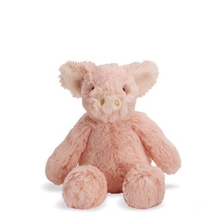 "Manhattan Toy Lovelies Pink Piper Pig 8"" Plush Toy"