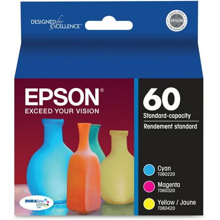 Epson, EPST060520, T060520VP Ink Cartridges Value Pack, 1 Each Dye Value Pack Ink