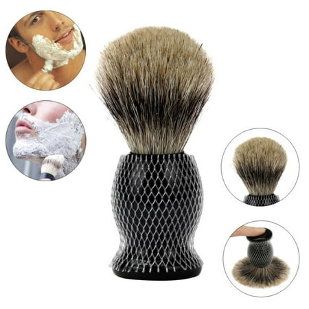 SNHENODA Sexy Man 1PC Shaving Brush Pure Badger Hair Shaving Brush Resin Handle Best
