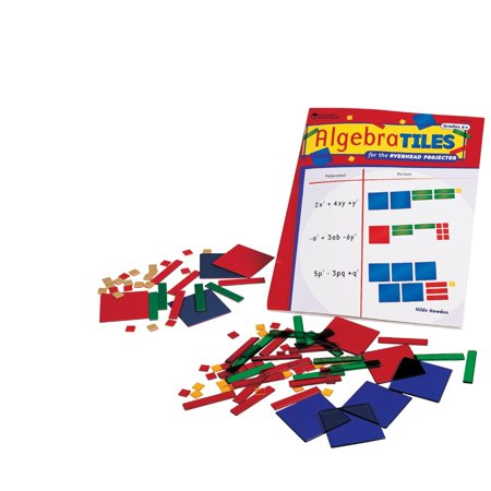 Learning Resources 087680 Algebra Tiles Classroom - Algebra Tiles Classroom Set