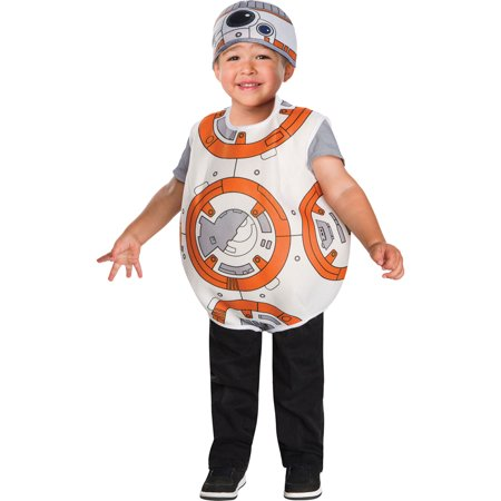 Morris Costumes Toddlers SW7 BB8 Droid Most Recognizable Costume 4T, Style RU510190](Droid Costume)
