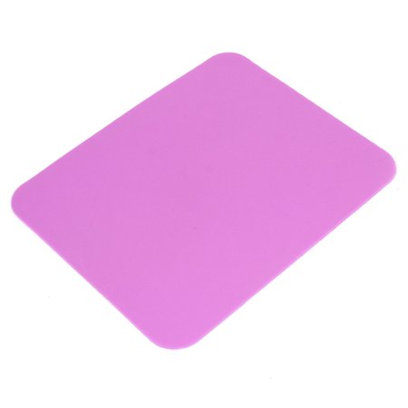 Notebook Computer 17.5 x 21.5cm Soft Silicone Gaming Mouse Mice Pad Mat Fuchsia