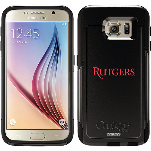 Rutgers Design on OtterBox Commuter Series Case for Samsung Galaxy S6