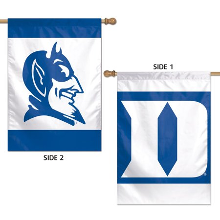 Ncaa Door Flag - Duke Blue Devils Official NCAA 28 inch  x 40 inch  Two Sided Vertical Flag by Wincraft