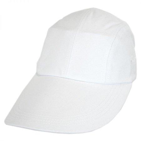 VHS Long Bill Adjustable Baseball Cap - ADJUSTABLE - White