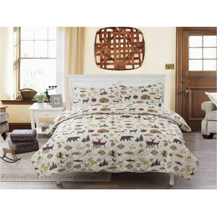 Country Lodge Bedding Quilt by Generic