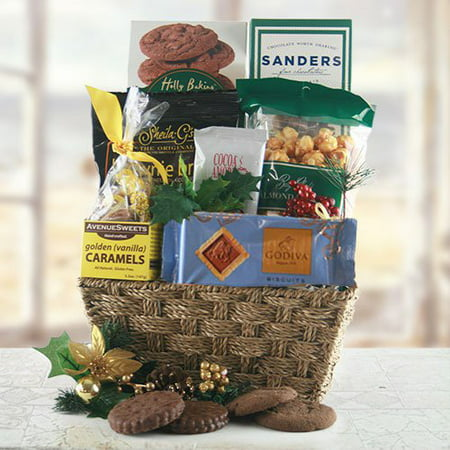 Winter Delight Chocolate Gift Basket