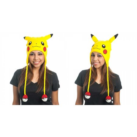 Pokemon Pikachu Big Face Laplander Hat](Pikachu Hat)