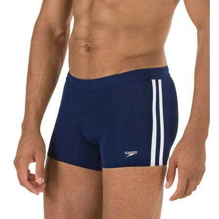 Men's 7300164 Shoreline Square Leg Fitness Swim (Speedo Mens Shoreline Square Leg)