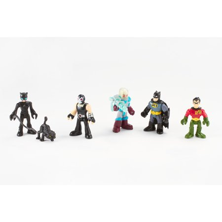 Imaginext DC Super Friends Batman Heroes & Villains Pack - Batman Female Villains